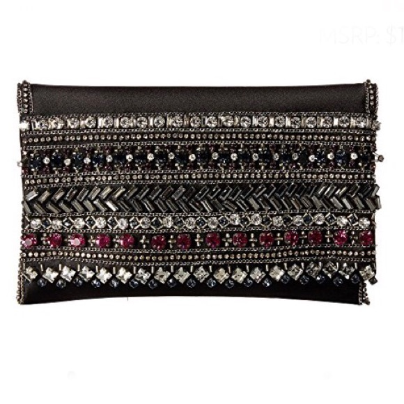 Oscar de la Renta Handbags - NEW • Oscar De La Renta • Embellished Evening Bag